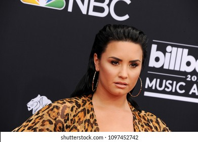 Demi Lovato at the 2018 Billboard Music Awards held at the MGM Grand Garden Arena in Las Vegas, USA on May 20, 2018.