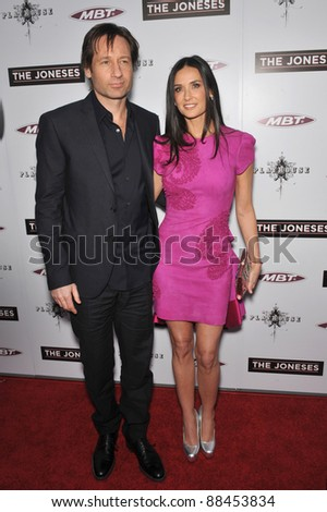 00111969dd36 Demi Moore   David Duchovny at the Los Angeles premiere of their new movie