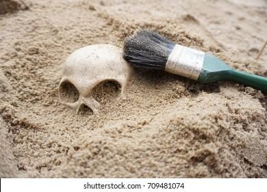 Demo archeology dig
