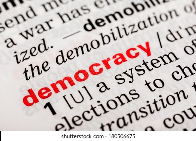 Democracy Word Definition In Dictionary