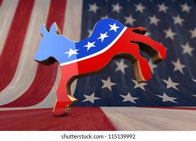 Democrat Party Symbol