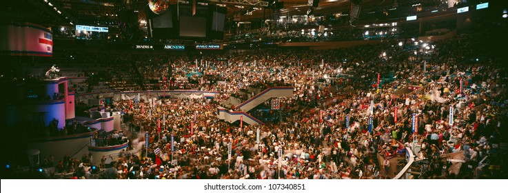 Democratic Convention at Madison Square Garden, Clinton/Gore campaign of 1992,