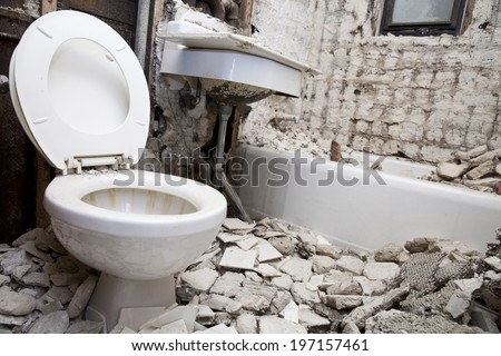 Perfect Demolition For Bathroom For New Construction