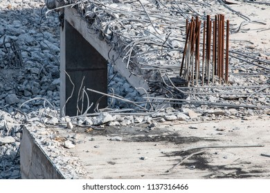 Demolition of the building.