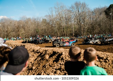 Demolition Derby Crowd