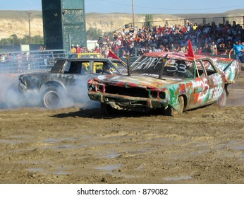 Demolition Derby on the 4th of July