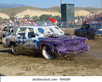 Demolition Derby on the 4th of July, Salmon, Idaho