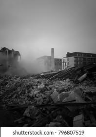 Demolition of old factory