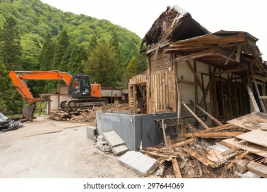 Demolition of old houses