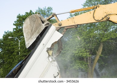Knock down images stock photos vectors shutterstock for Demolition wood for sale