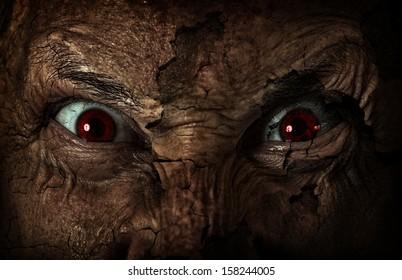 Demon Face Images, Stock Photos & Vectors | Shutterstock