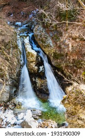 Demons mill waterfall on Cerna river, near Horezu town, Valcea, Romania - Shutterstock ID 1931900309