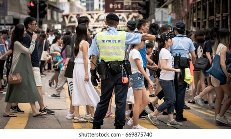 Demonstration, Hong Kong, 20th anniversary, July 1, 2017
