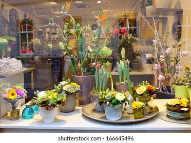 DEN BOSCH, NETHERLANDS �¢?? MARCH 31: Showcase floral shop on 31.03.2012 in Den Bosch, Netherlands.