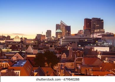 Den Haag skyline