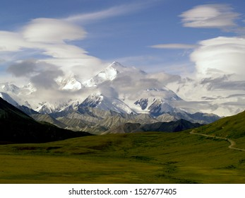 Denaili or Mt Mckinley in Denali National Park