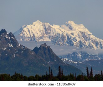 Denali, highest mountain in Northern America (Alaska)