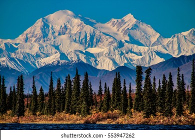 Denali, previously known as Mount McKinley, is the highest mountain peak in North America, located in Alaska, United States