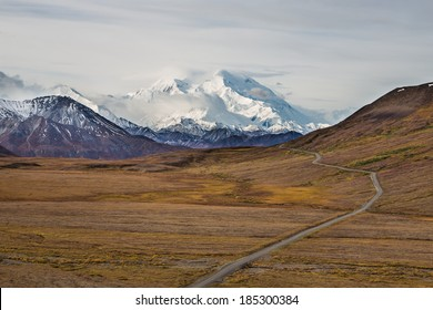 Denali, as seen from Stony Hill Overlook. Denali National Park - Alaska