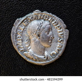 denarius of Emperor Marcus Antonius Gordian