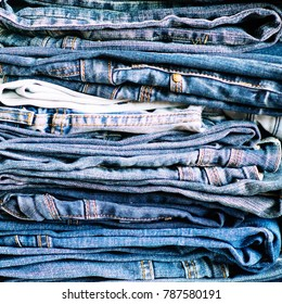Denim. Jeans background. Denim jeans texture or denim jeans background!