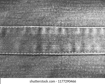 Denim jeans texture. Denim background texture for design. Canvas denim texture. black white denim that can be used as background. black white jeans texture for any background.