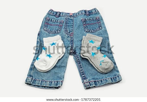 denim-trousers-socks-children-aged-600w-
