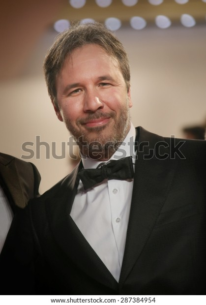 Denis Villeneuve  attends the 'Sicario' premiere during the 68th annual Cannes Film Festival on May 19, 2015 in Cannes, France.