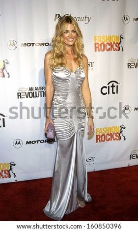 0ef010cca6a Denise Richards arrives at Conde Nast s FASHION ROCKS AN UNPRECEDENTED  NIGHT OF STYLE AND SOUND