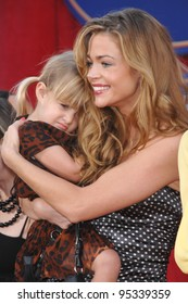 """Denise Richards & daughter at the world premiere of """"Ratatouille"""" at the Kodak Theatre, Hollywood. June 23, 2007  Los Angeles, CA Picture: Paul Smith / Featureflash"""