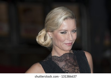Denise Van Outen arriving the UK Premiere of Run for your Wife, Odeon Cinema, Leicester Square, London. 05/02/2013 Picture by: Simon Burchell
