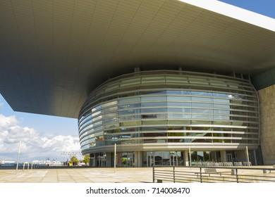 Denmark, Copenhagen - September 9, 2017: Copenhagen Opera House - National Opera House of Denmark