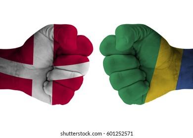 DENMARK vs GABON