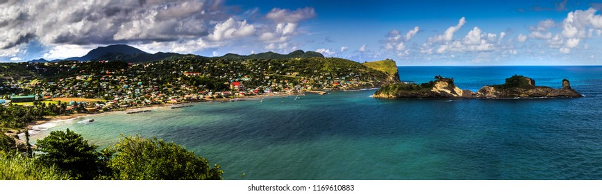 Dennery is a fishing village on the east coast of St Lucia