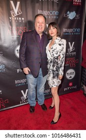 """Dennis Haskins, Lulu Jovovich attend """"Living Among Us"""" Los Angeles Premiere at Laemmle's Ahrya Fine Arts Theatre, Los Angeles, CA on February 1, 2018"""