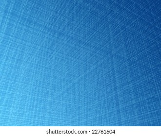 Dense 3d orthogonal blue light fibre system