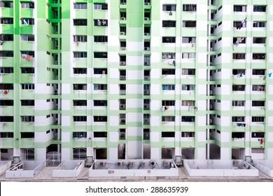 Dense HDB Housing, in Singapore