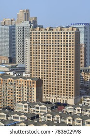 Density of living in te city center of Dalian, Liaoning Province, China.