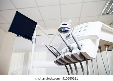 dental equipment in office