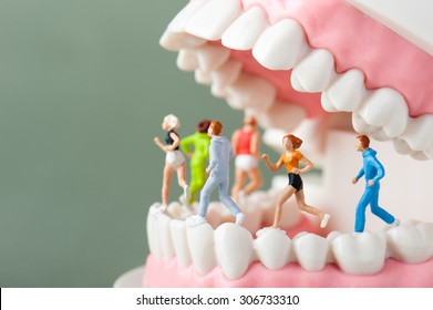 Dental health, sports