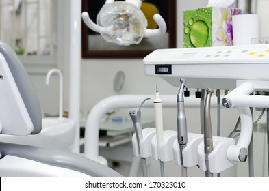 Dental office with dental chair