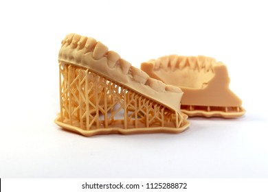 Dental resin model