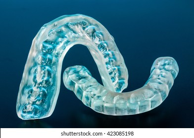 Dental splint to prevent bruxism