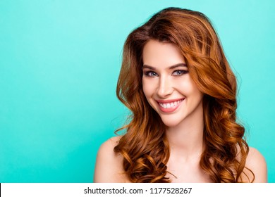 163bfc4f1d7 ... studio against white background. Dental and teethcare care concept.  Portrait of gorgeous