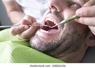 Dentist Teeth Control
