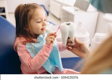 Dentistry little girl