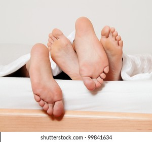 dents a couple feet in bed. love, sex and partners.