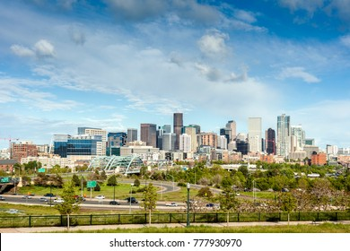 Denver city center, Capital of Colorado State, USA