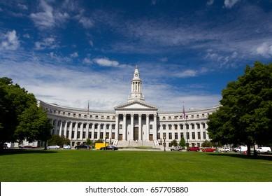 Denver City Hall, Colorado USA.