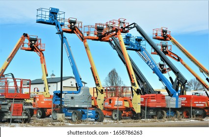 Denver, CO, USA. Feb 23, 2020. United Rentals located at 8401 E. Iliff Ave in Denver has a huge selection of rental equipment and tools for construction such as fork lift, lifts, bulldozers and tools